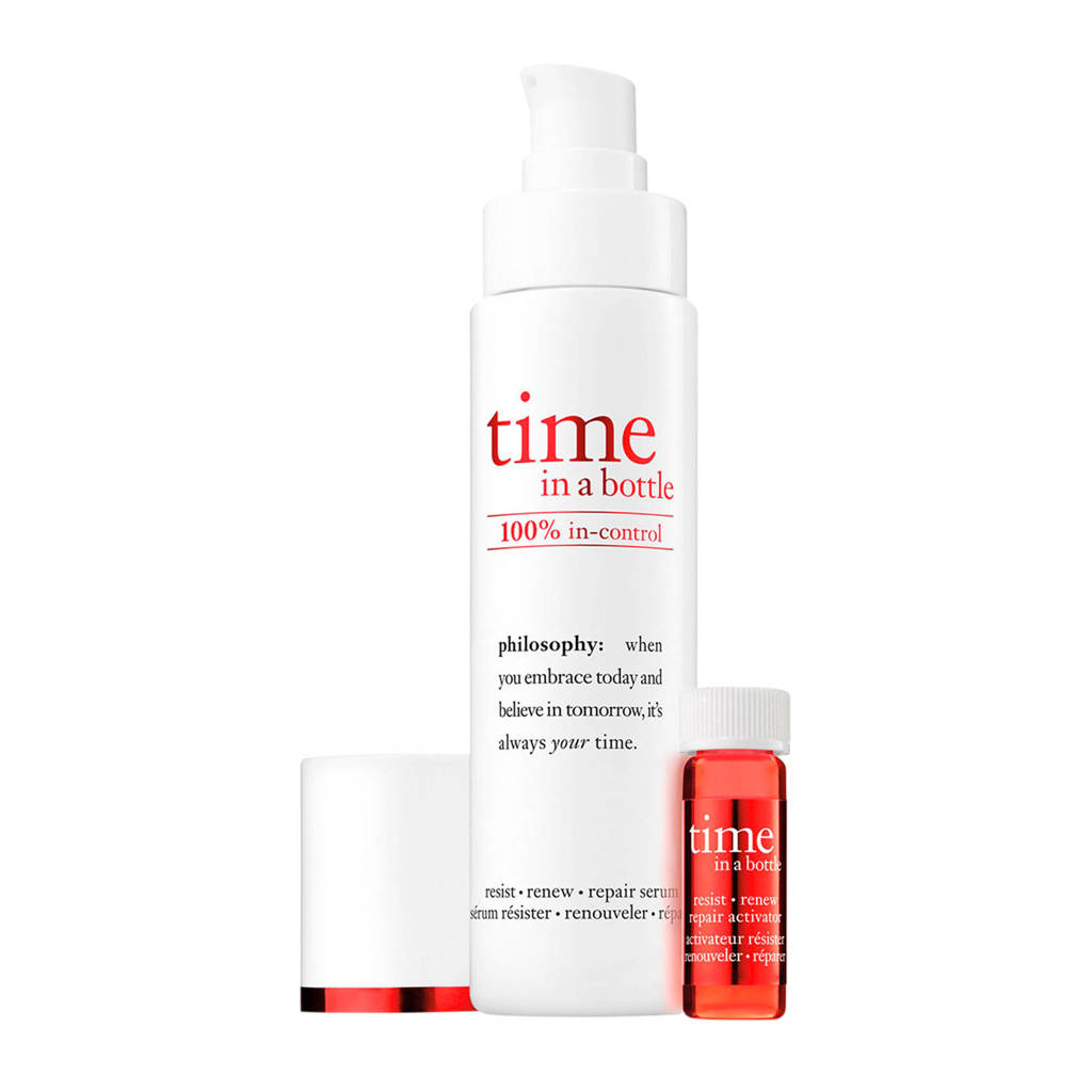 philosophy time in a bottle face serum - 40 ml