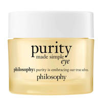 philosophy purity made simple hydra bounce oogcrème - 15 ml