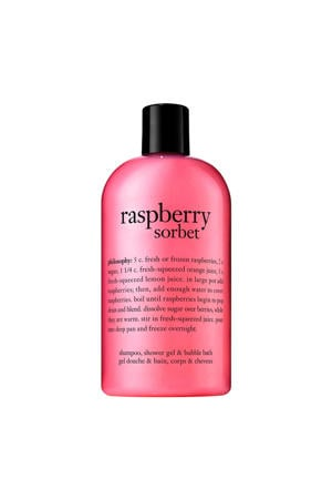 bath raspberry sorbet douchegel -  480 ml