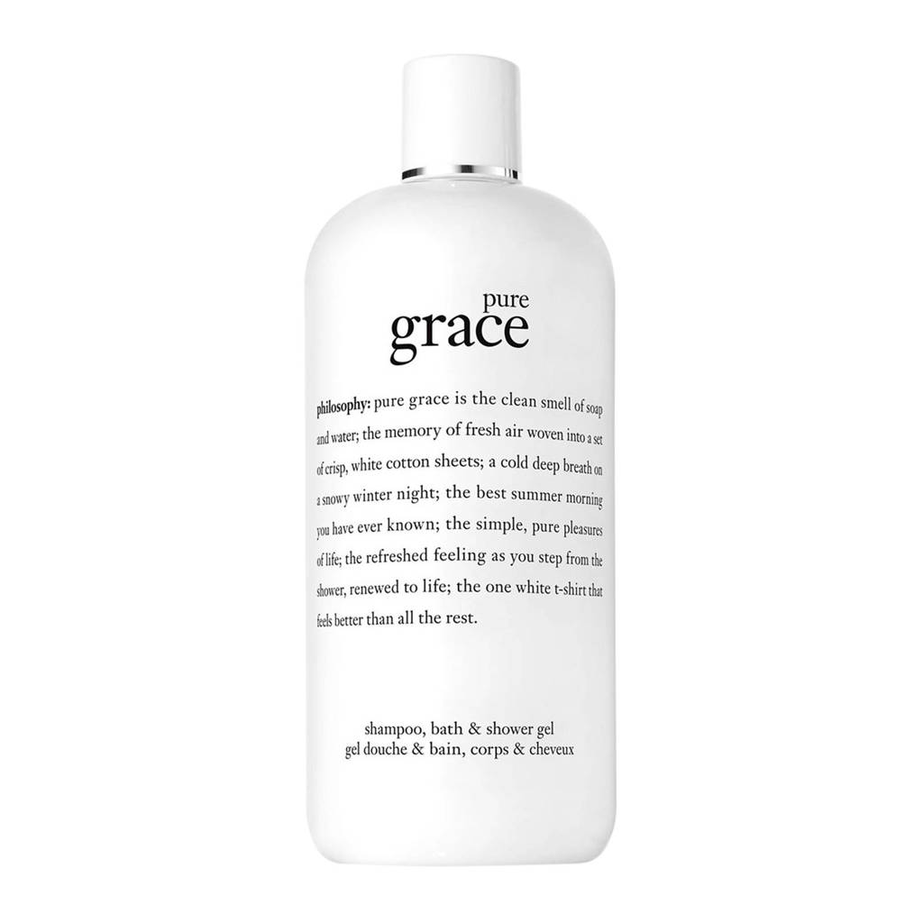 philosophy pure grace bath & shower douchegel - 480 ml