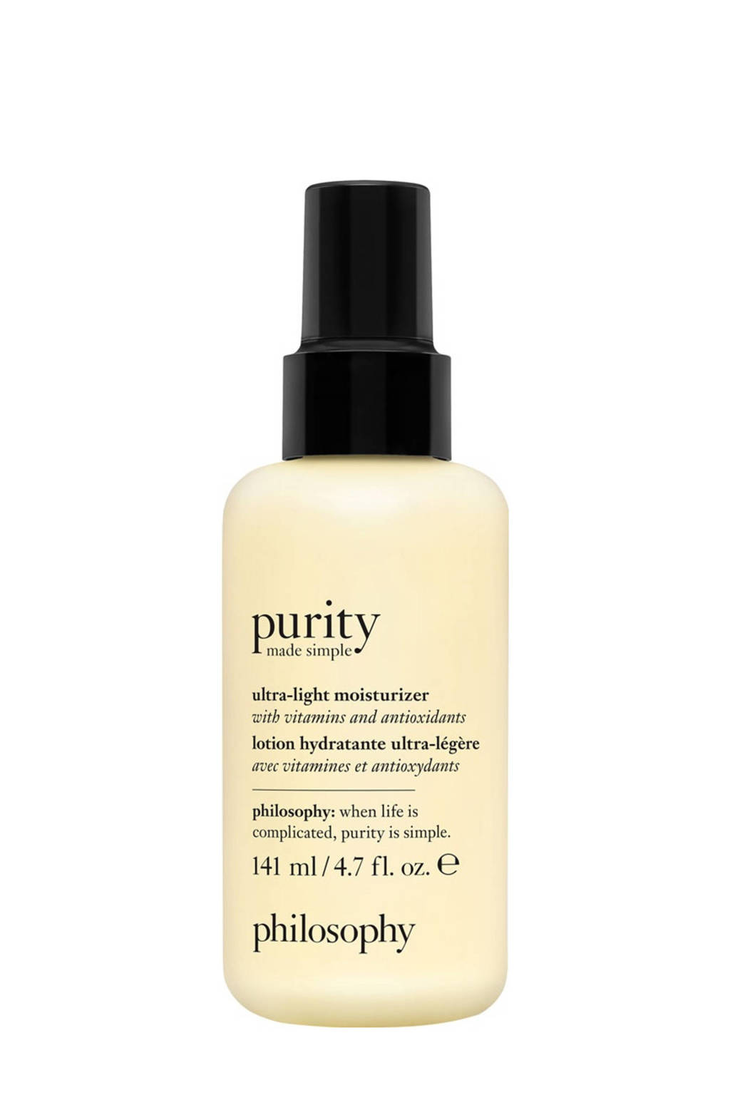 philosophy purity made simple ultra-light moisturizer dagcrème - 140 ml