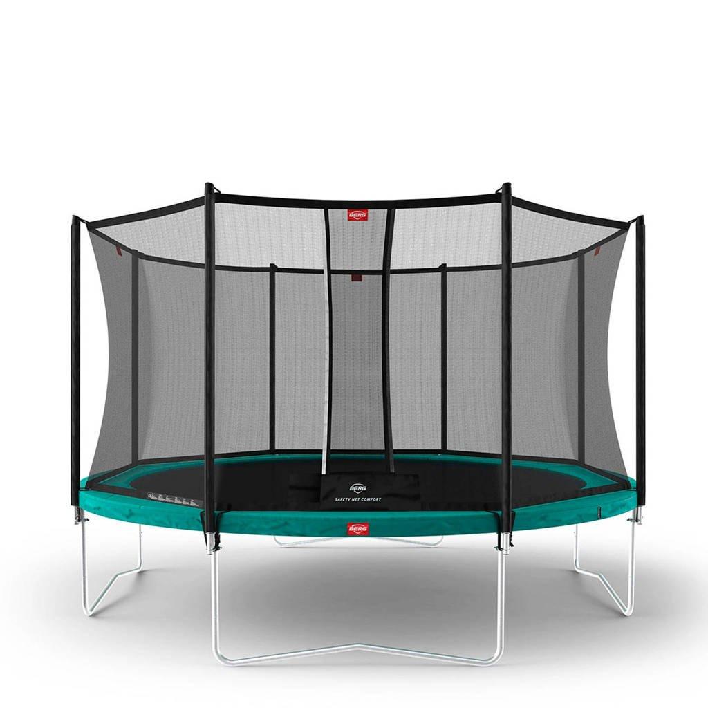 BERG Favorit trampoline Ø380 cm, ø380, Groen