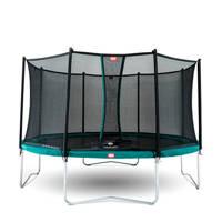 BERG Favorit trampoline Ø430 cm, ø430, Groen