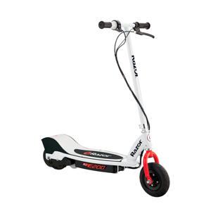 E200 elektrische step rood-wit