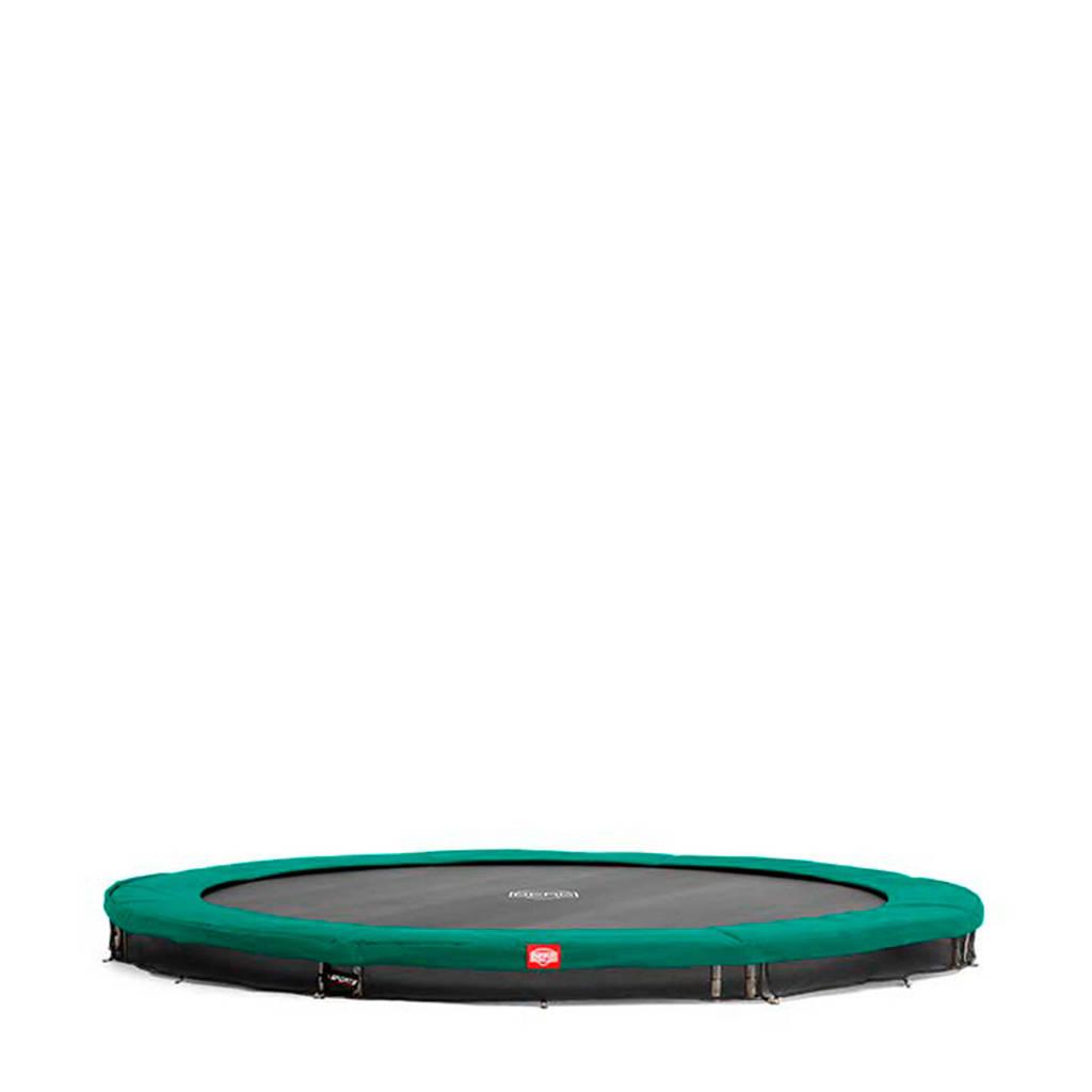 BERG Champion Inground trampoline Ø430 cm, Groen