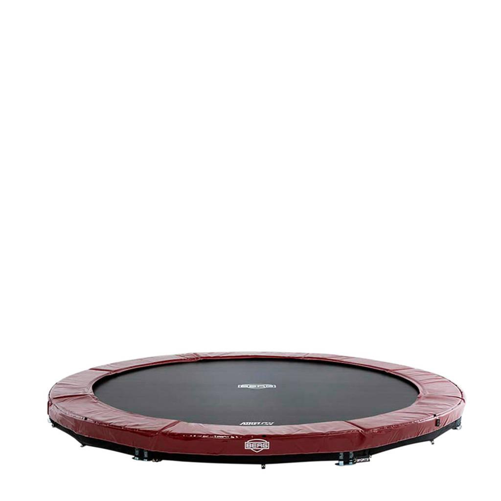 BERG Elite Inground trampoline Ø430 cm, Rood