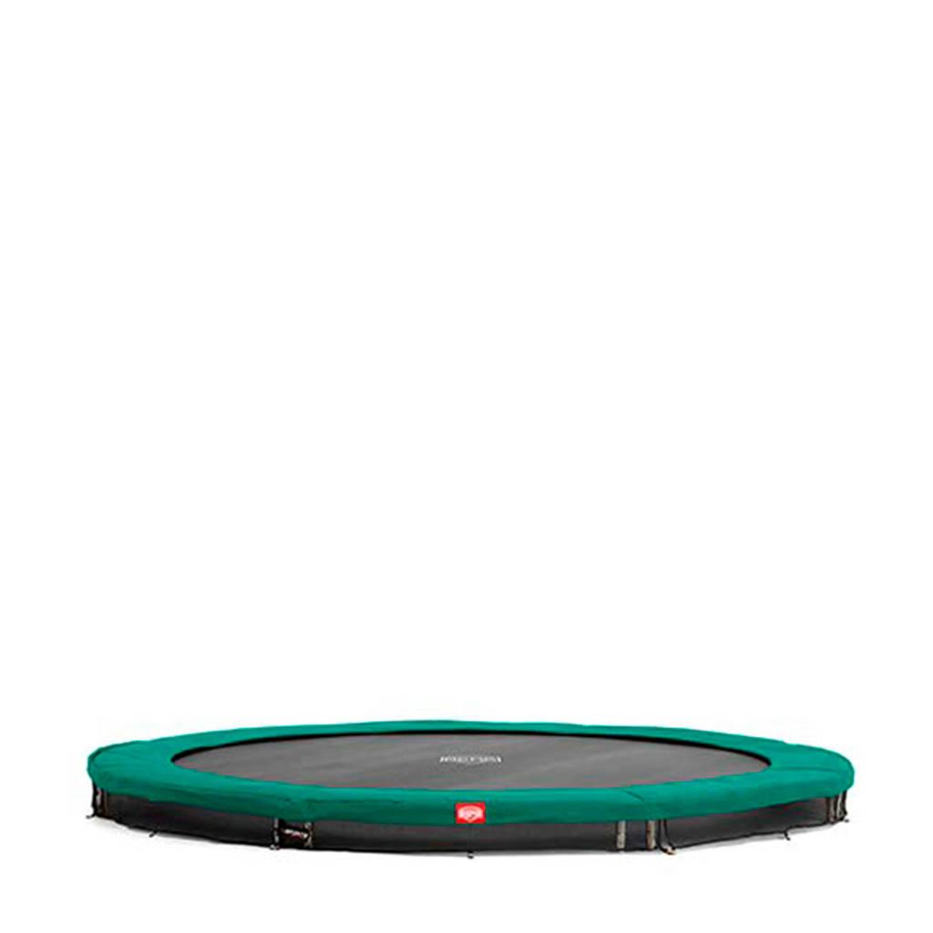 BERG Favorit Inground trampoline Ø270 cm, Groen