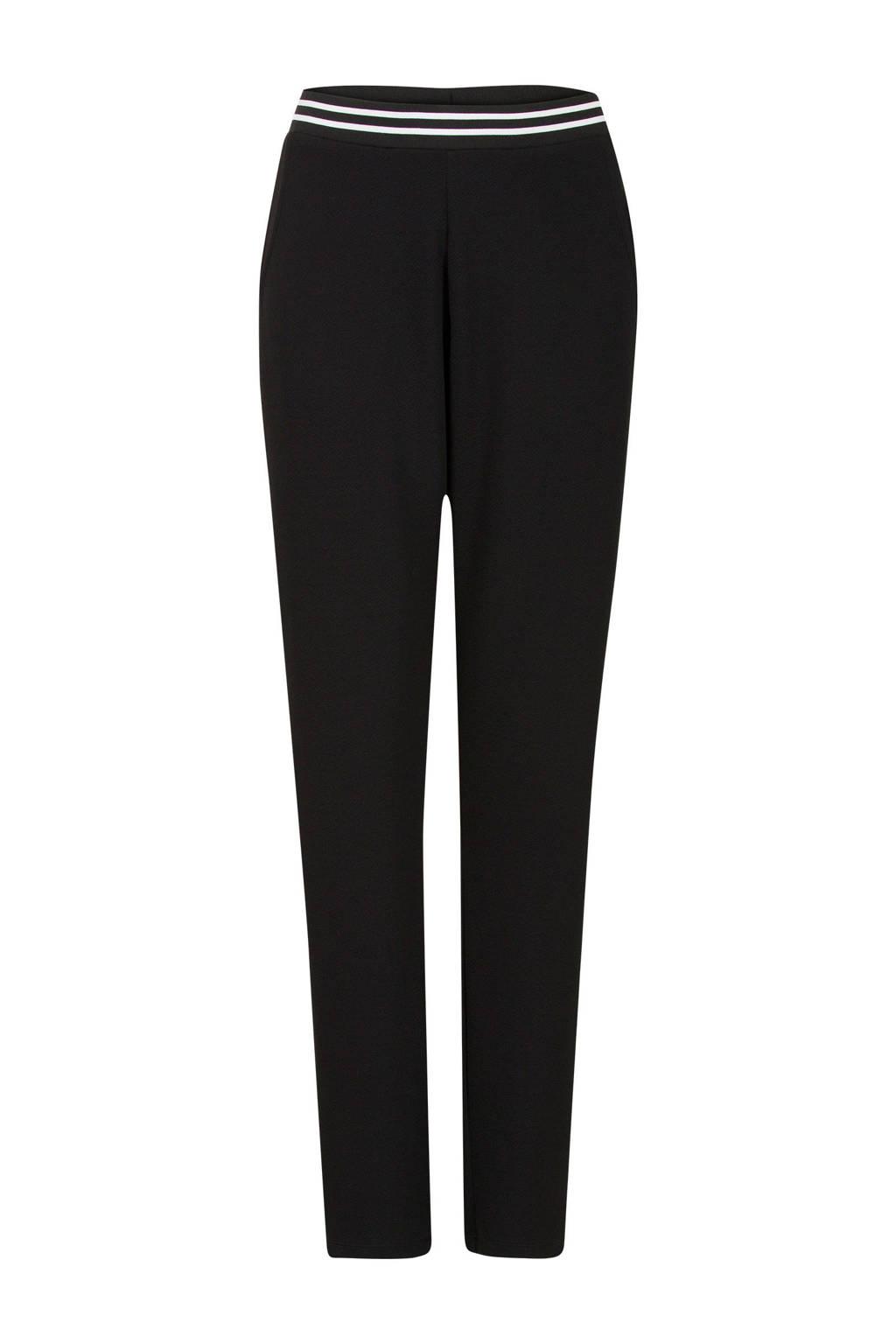 Miss Etam Regulier regular fit broek zwart, Zwart