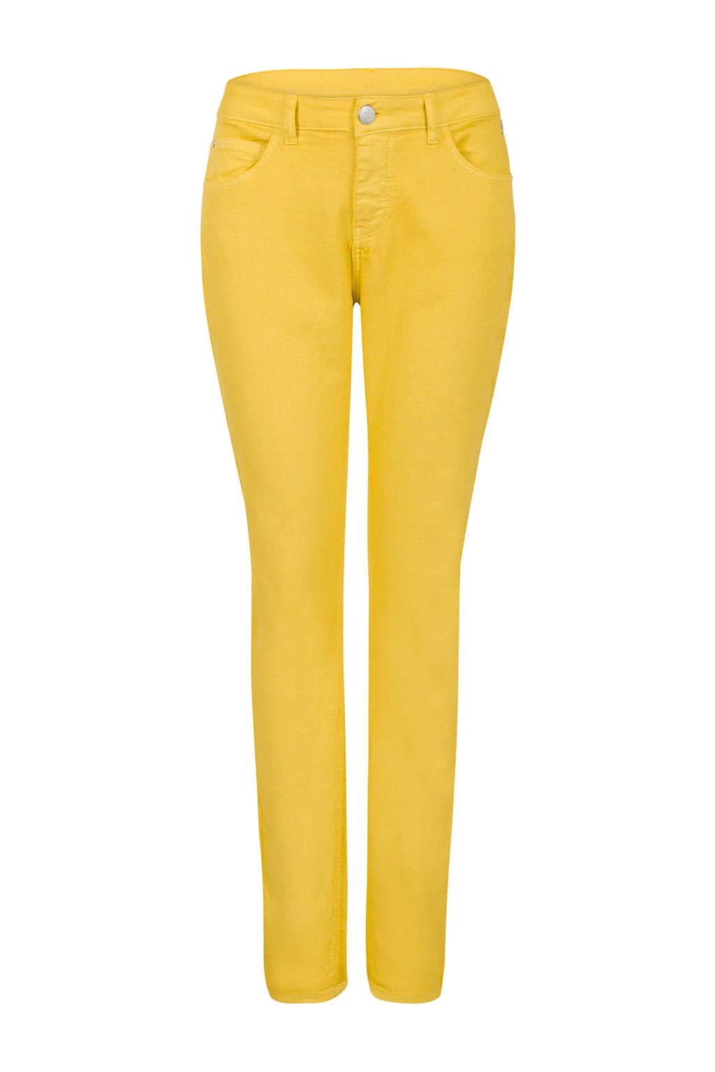 Miss Etam Regulier skinny fit jeans geel, Geel