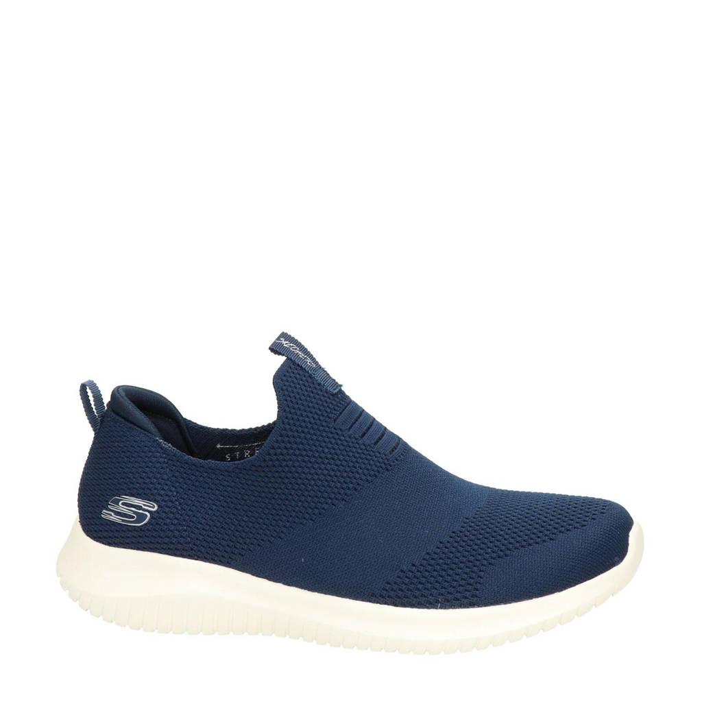 Desear tenaz participar  Skechers SN 12837 sneakers donkerblauw | wehkamp