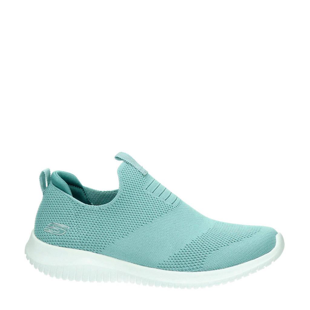 Skechers   SN 12837 sneakers aqua, Blauw/aqua