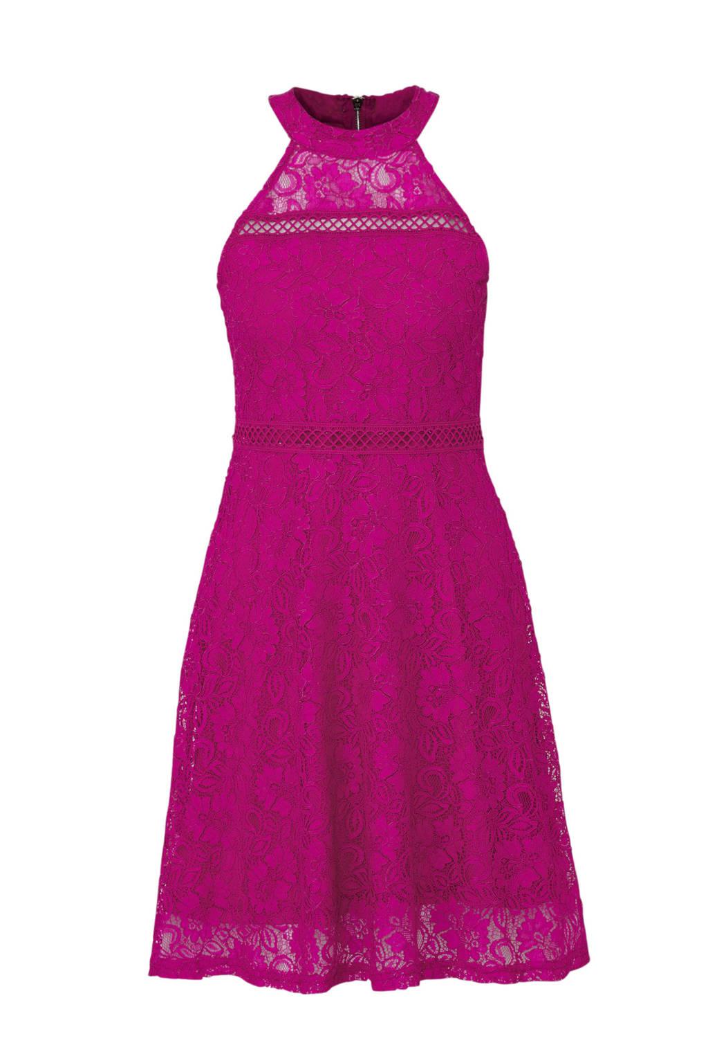 6b670c19a4c797 CoolCat kanten jurk