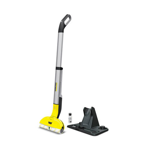 Kärcher FC 3 Cordless Bagless Black,Silver,Yellow 40 W