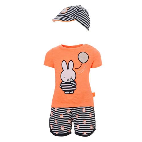 C&A nijntje T-shirt + sweatshort + pet
