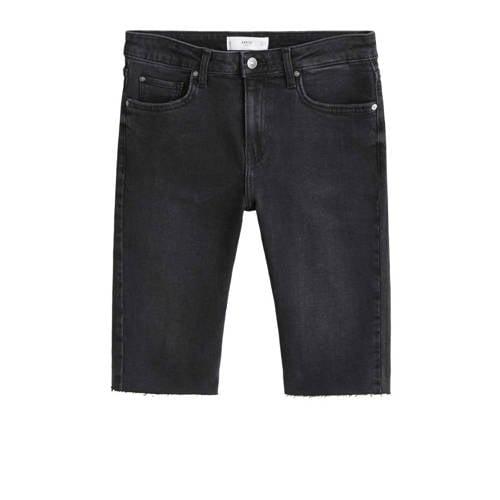 Mango jeans short zwart
