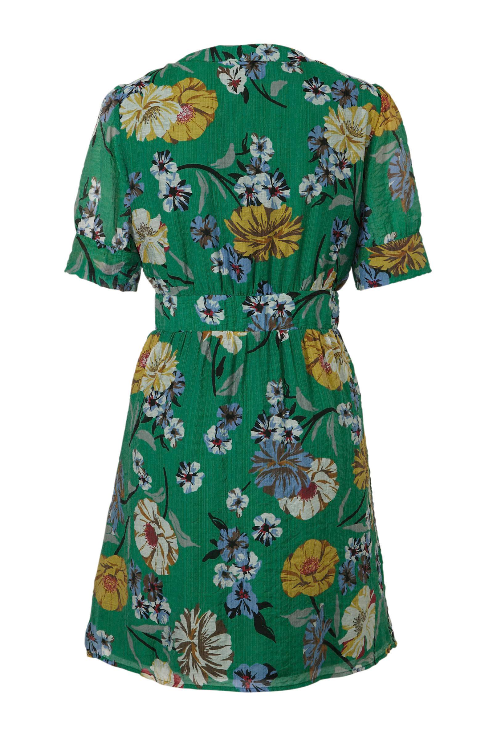 VILA bloemenprint met met VILA VILA jurk bloemenprint jurk jurk nfqxOXXRd