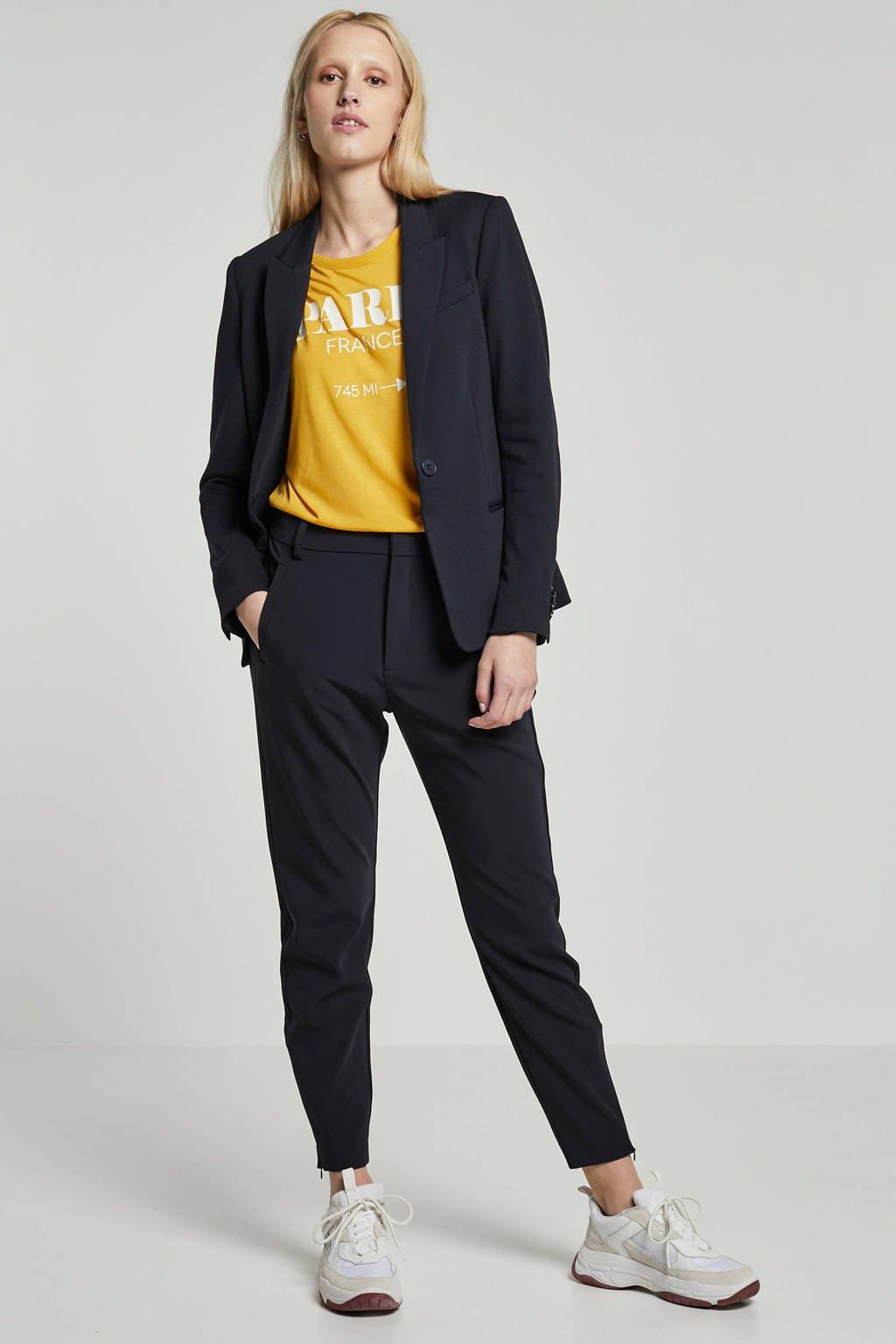 Inwear jersey blazer donkerblauw, Donkerblauw