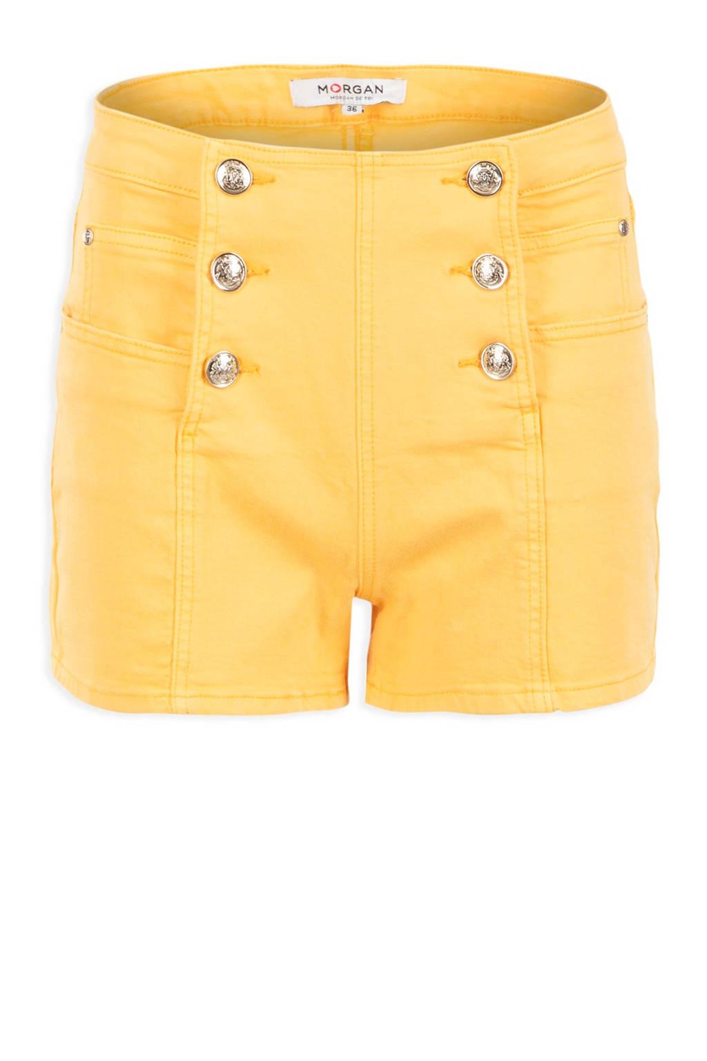 Morgan short geel, Geel