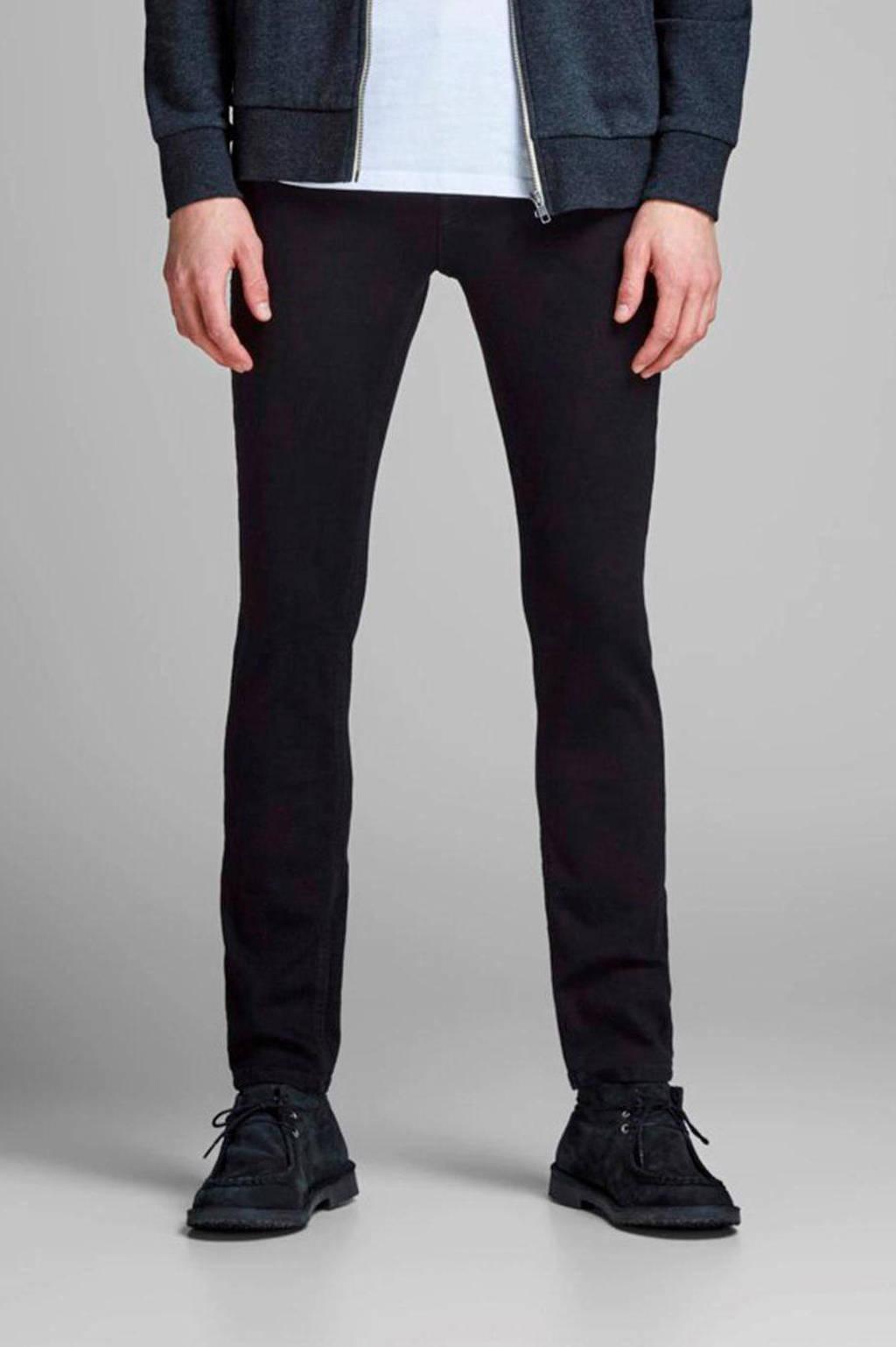 JACK & JONES slim fit jeans JJIGLENN JJORIGINAL black denim, Black denim