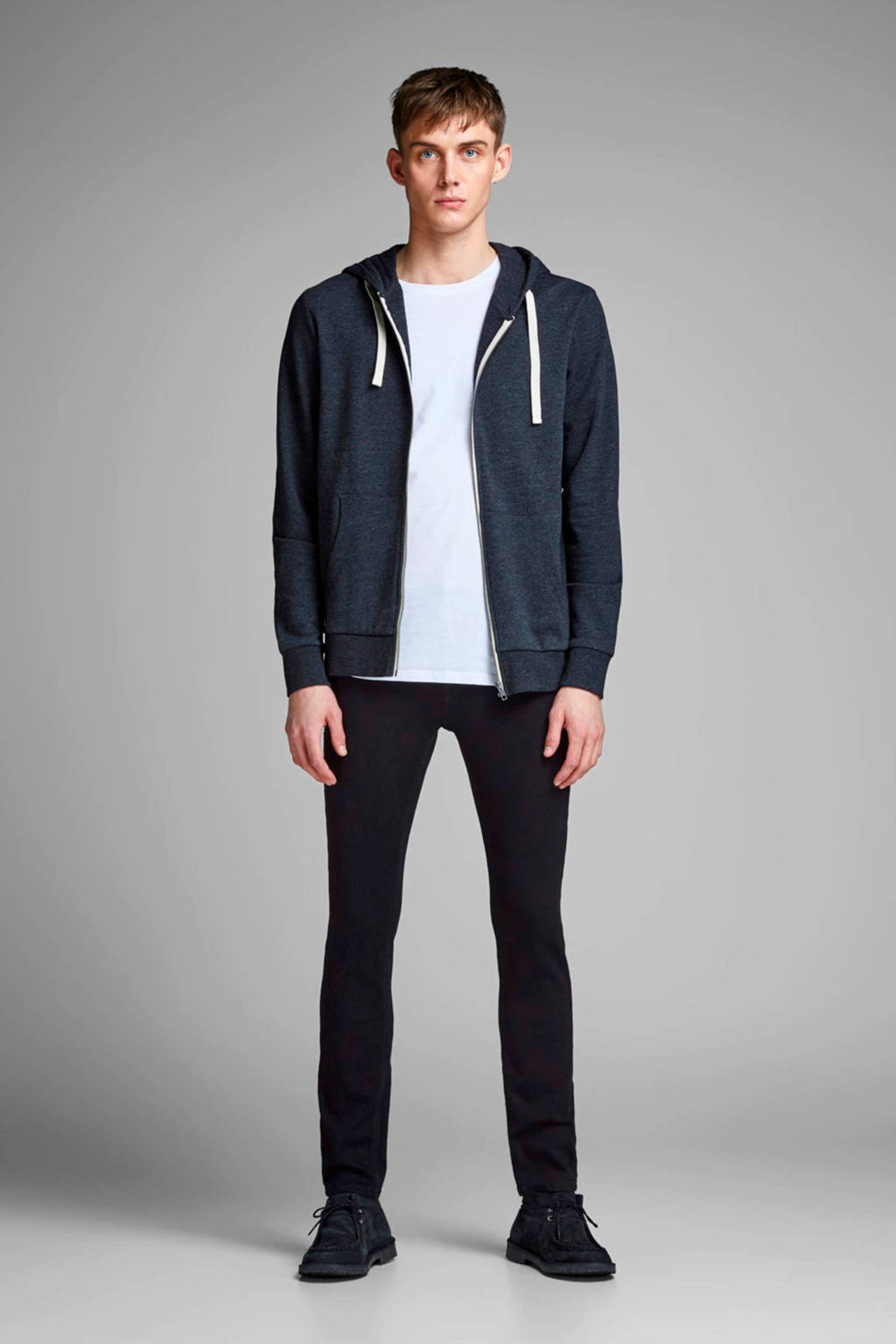 JACK & JONES slim fit jeans Glenn black denim, Black denim