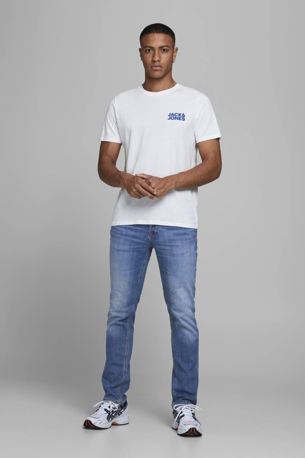 JACK & JONES slim fit jeans Glenn blue denim, Blue denim