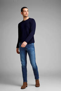 JACK & JONES slim fit jeans Glenn blue denim, Blue denim