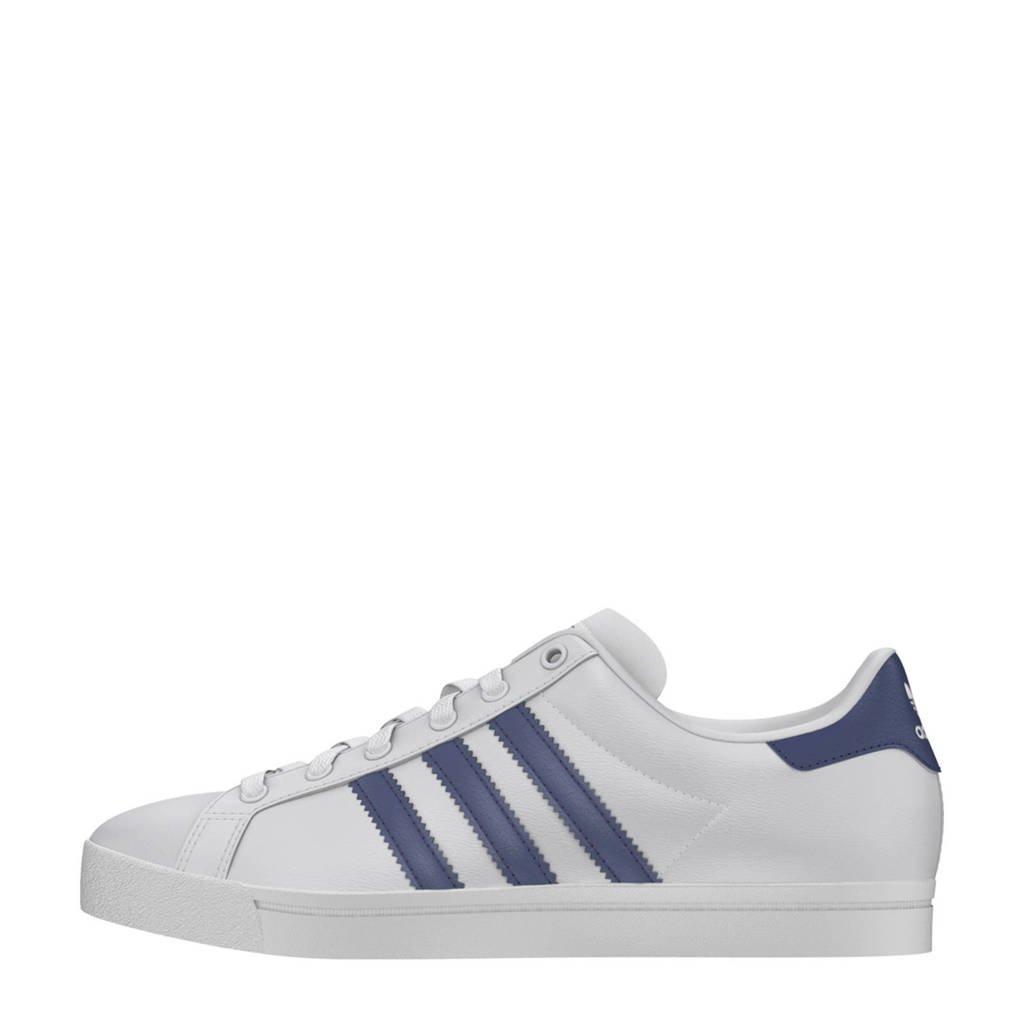 7e783ad6e43 adidas originals Coast Star sneakers, Wit/blauw