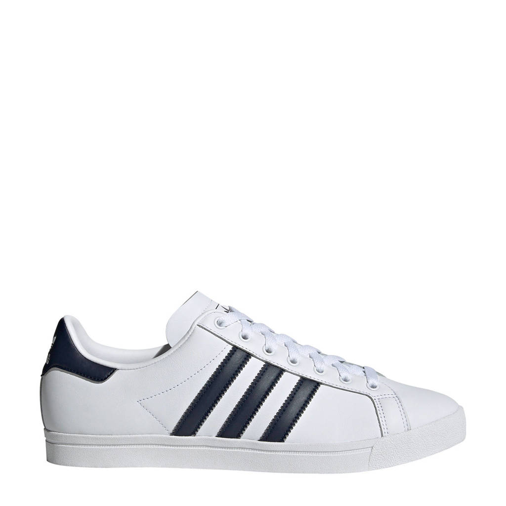 adidas originals  Coast Star sneakers, Wit/donkerblauw