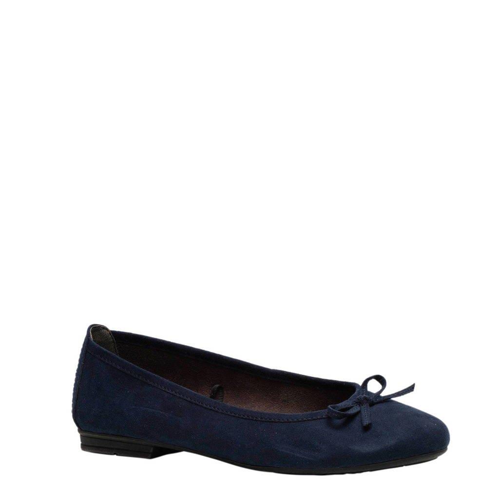 Scapino Softline ballerina's donkerblauw, Blauw
