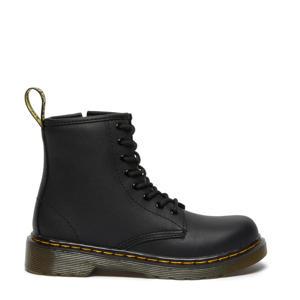 1460 J Black Softy leren veterboots zwart