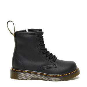 1460 T Black Softy leren veterboots zwart