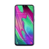 Samsung GALAXY A40 BLACK smartphone, Zwart