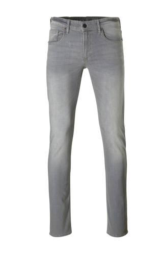 The Denim slim fit jeans grijs