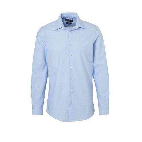 C&A Angelo Litrico slim fit overhemd blauw