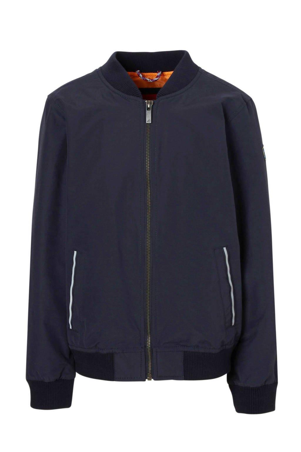 s.Oliver jas in bombermodel donkerblauw, Donkerblauw