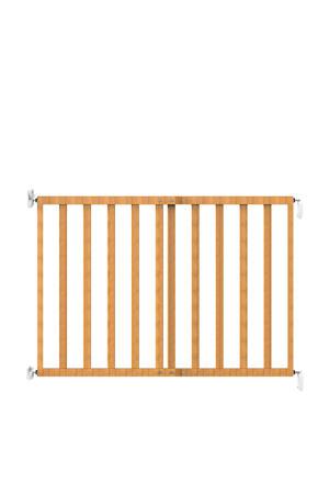 wall fix wooden blank houten traphekje naturel