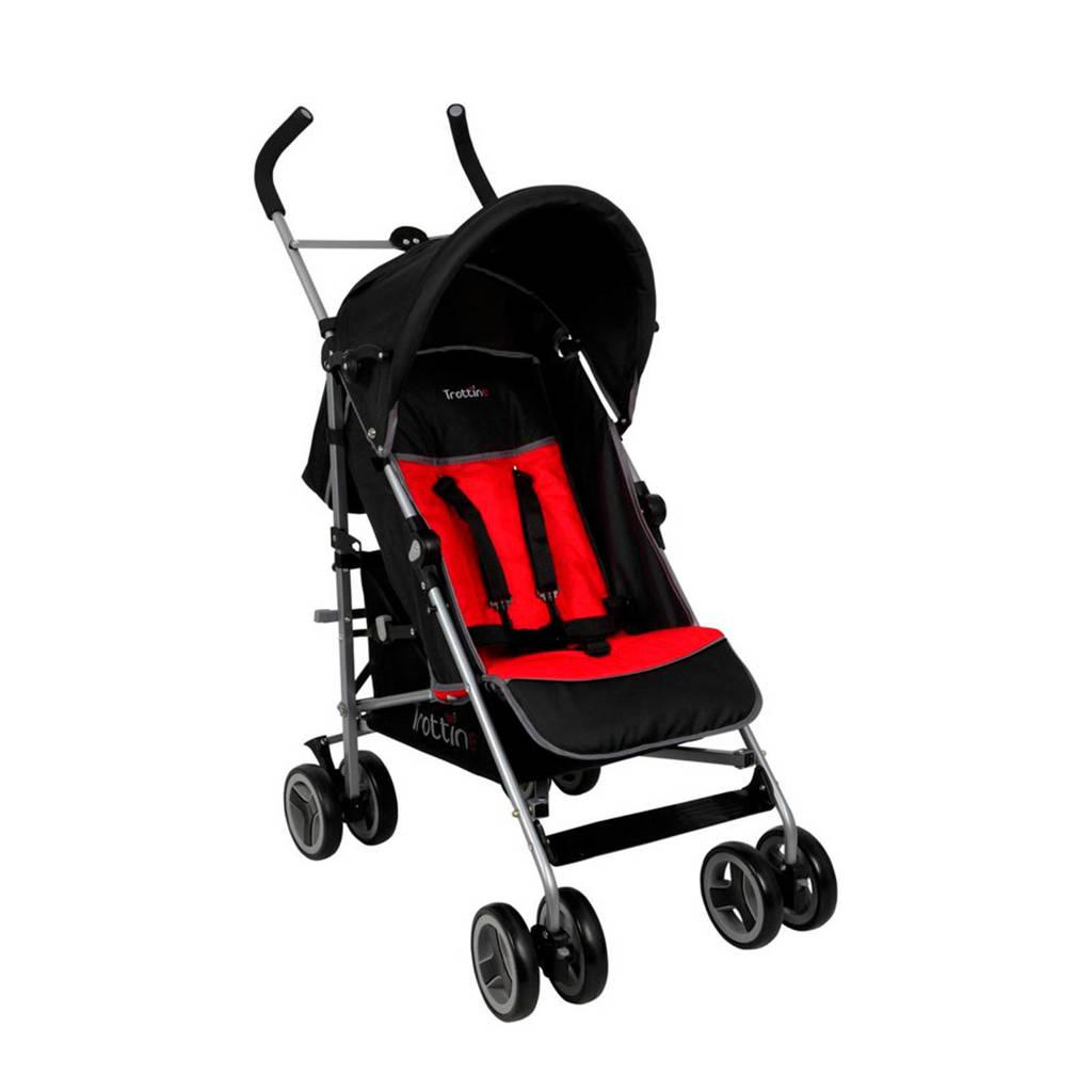 Renolux Arizona buggy rood/zwart, Zwart/rood