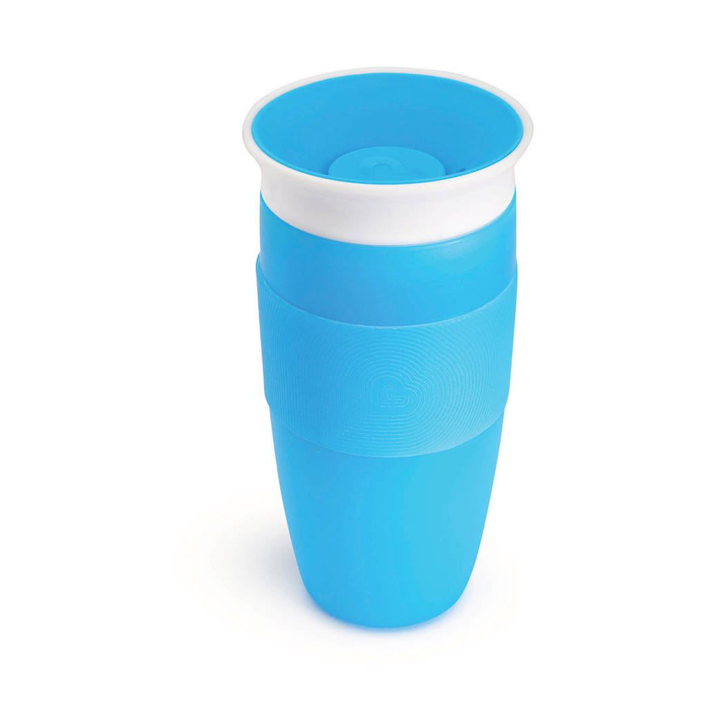 Munchkin Miracle 360° Sippy Cup 414 ml blauw, Blauw