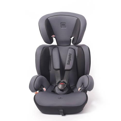 Babyauto Konar autostoel groep 1/2/3 grijs kopen