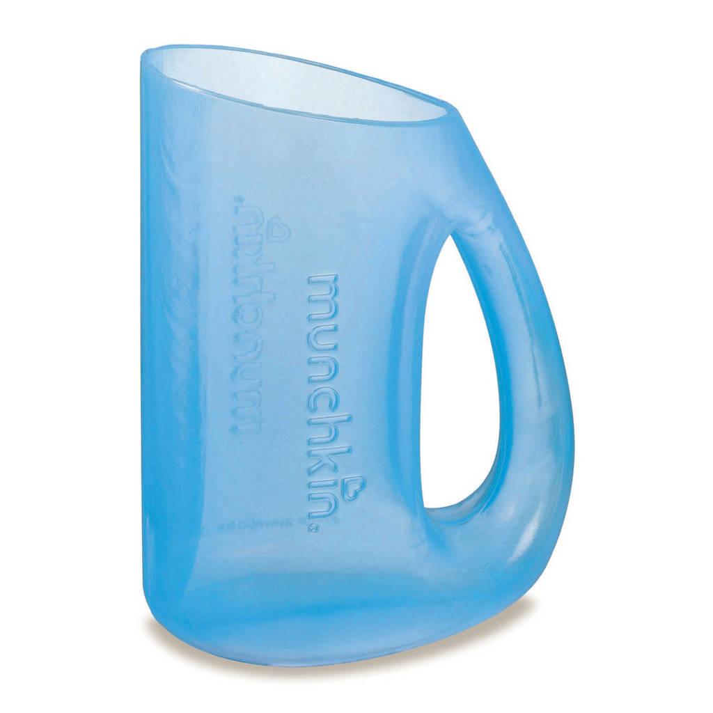 Munchkin shampoo beker blauw, Blauw
