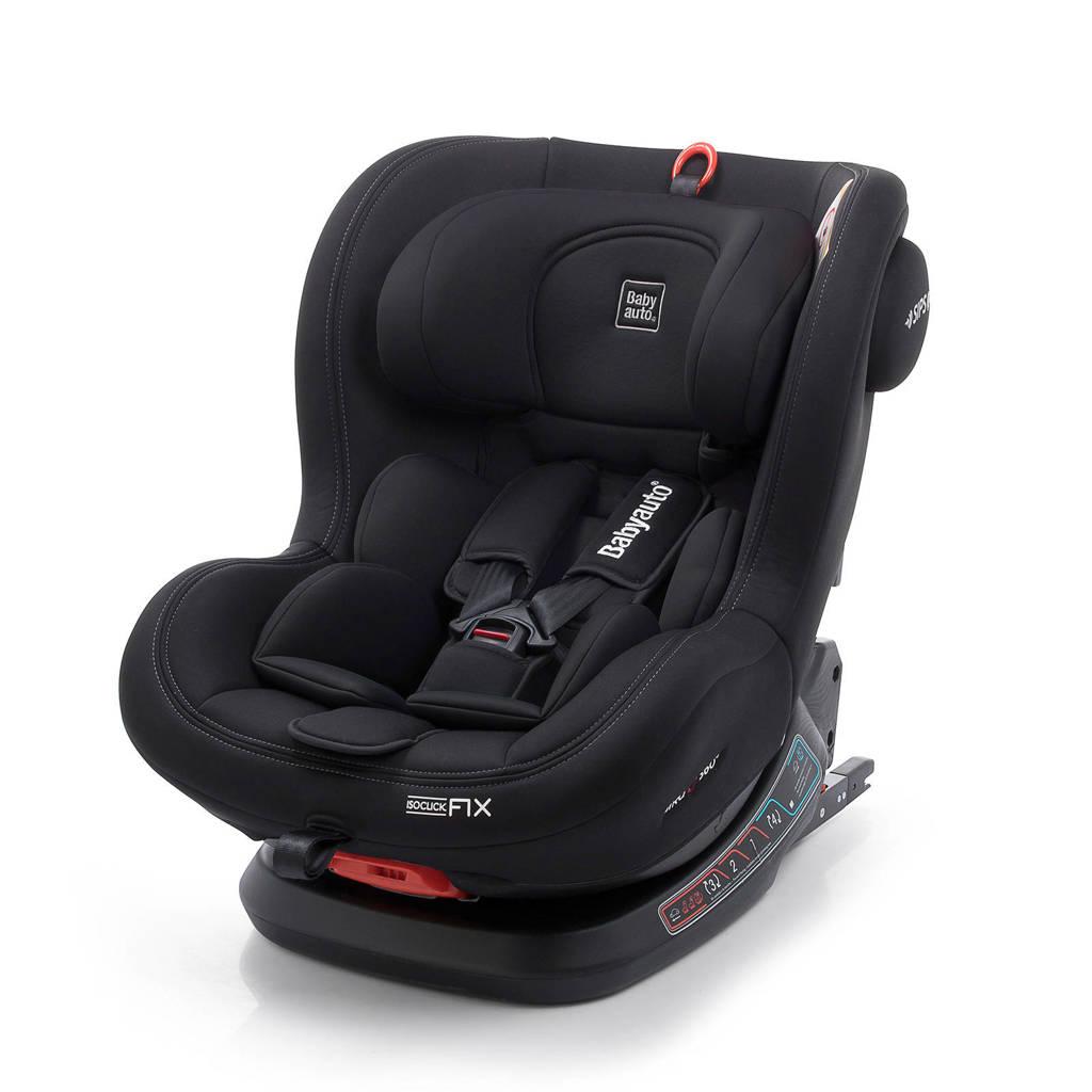 Babyauto Biro Fix autostoel zwart, Zwart/Zwart