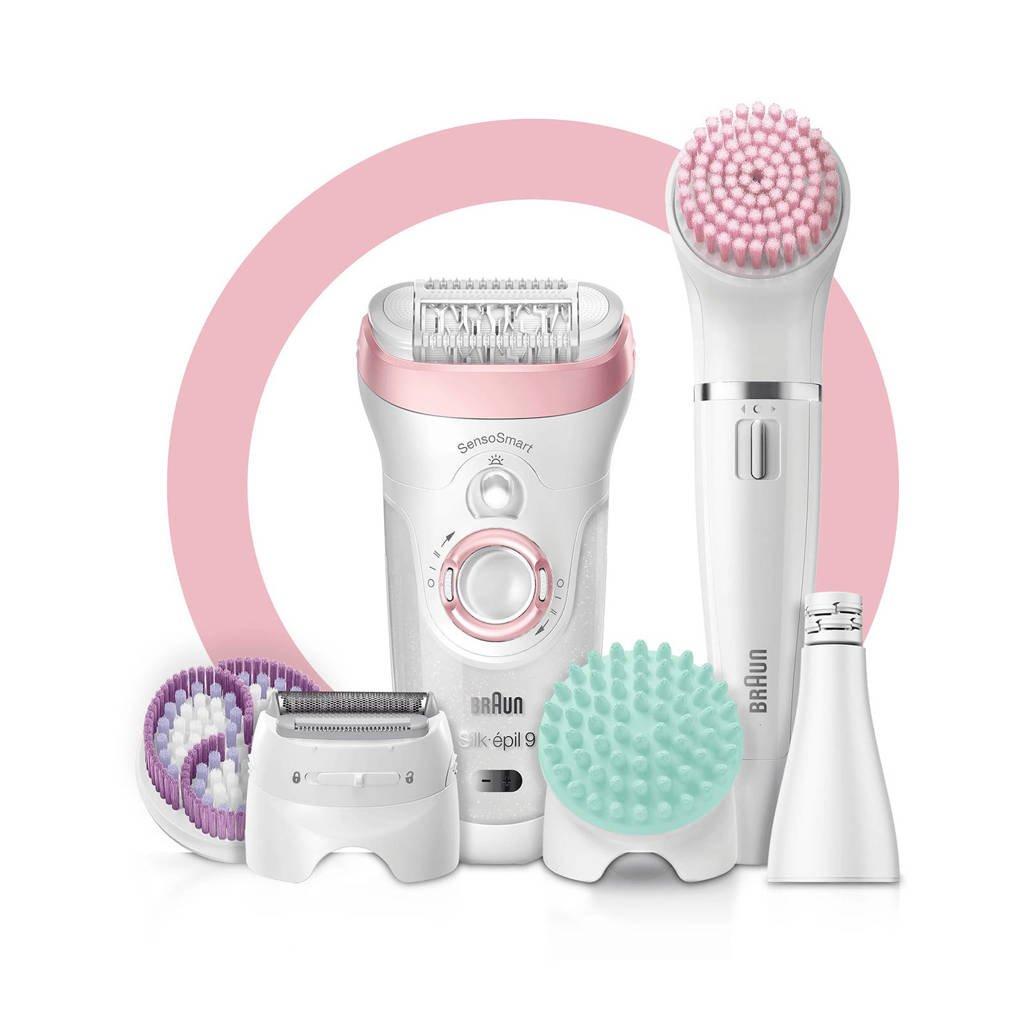 Braun  Braun Silk-épil Beauty Set 9 9-995 Deluxe epilator, scheerapparaat, scrubben en reiniging