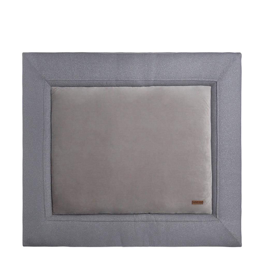 Baby's Only boxkleed Sparkle 75x95 cm zilvergrijs, Zilvergrijs