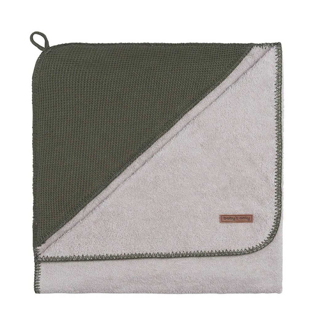 Baby's Only Classic badcape 85x75 cm khaki, Khaki