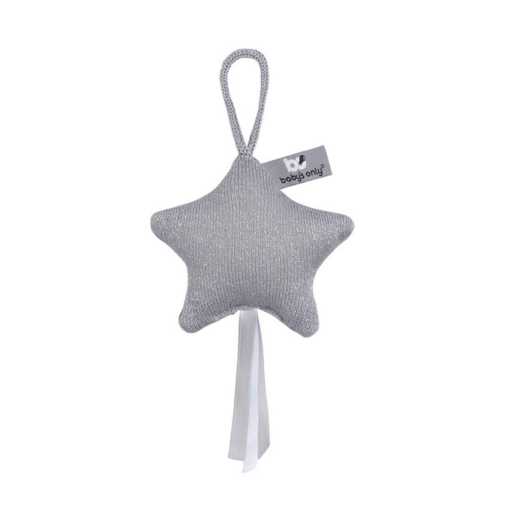 Baby's Only decoratiester Sparkle zilvergrijs, Zilvergrijs
