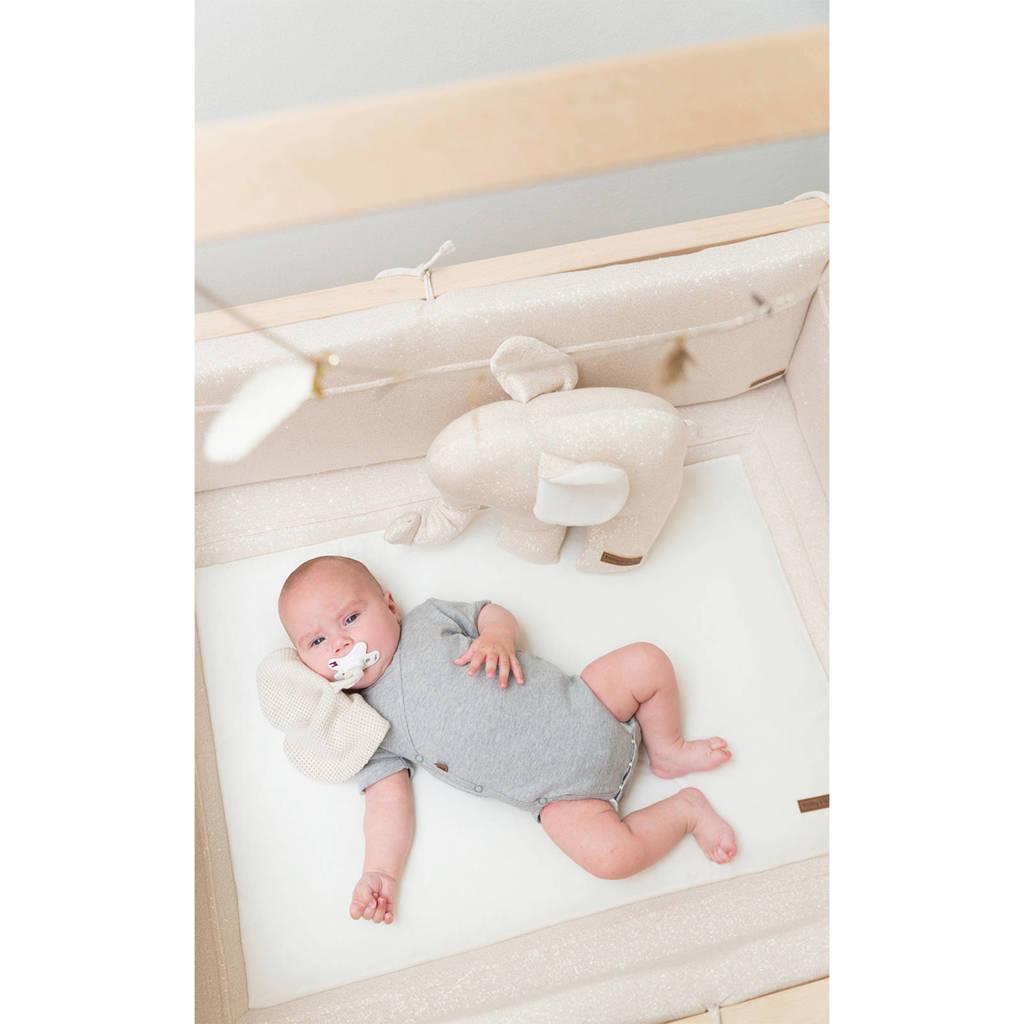 Baby's Only boxbumper Sparkle ivoor/goud, Ivoor/goud