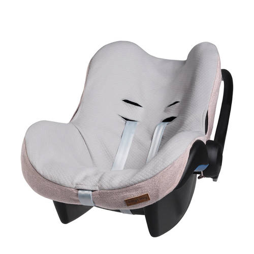 Baby's Only Sparkle Autostoelhoes Maxi-Cosi Zilver-Roze M�lee