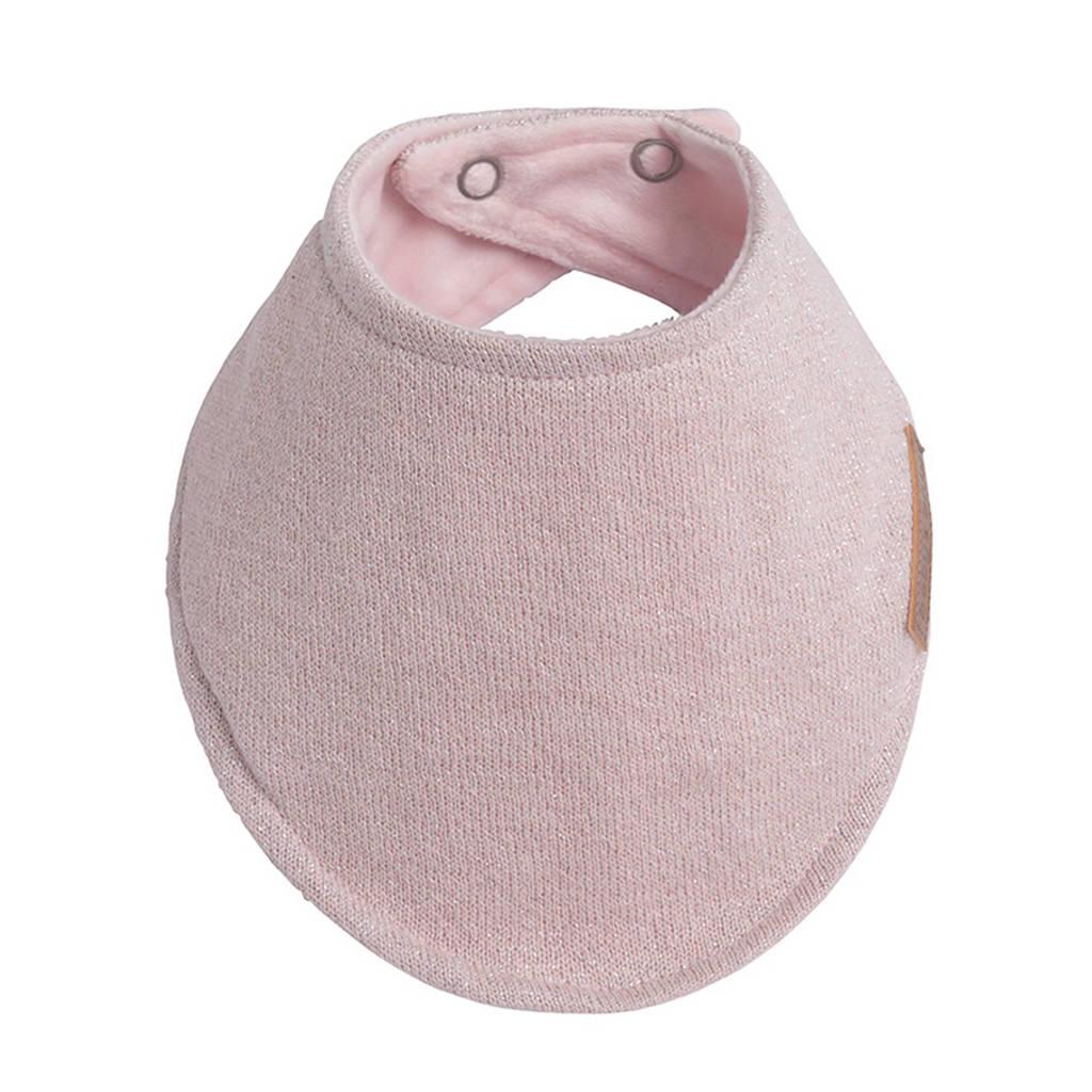 Baby's Only bandana slab Sparkle roze, Zilverroze