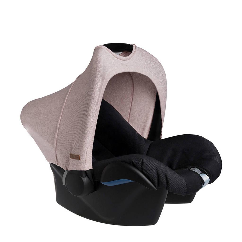 Baby's Only zonnekap Maxi-Cosi 0+ Sparkle zilver-roze, Lichtroze/zilver