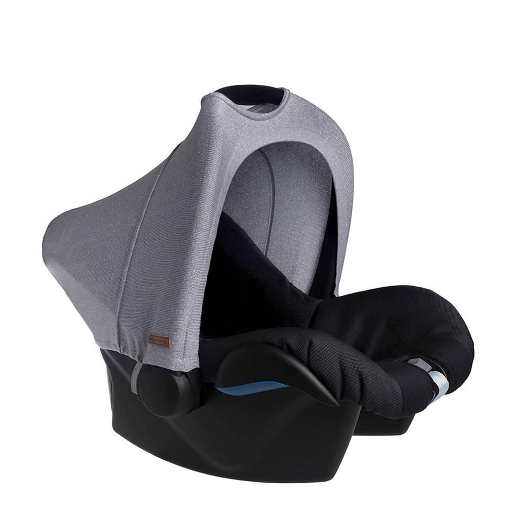 Baby's Only zonnekap Maxi-Cosi 0+ Sparkle zilvergrijs, Zilvergrijs